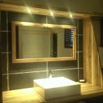 Salle de bain, chambre confort, hôtel***-restaurant Le Rayon Vert